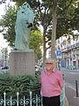 Jean-Paul MALAVAL devant Honoré de Balzac - 08-08-2013.jpg