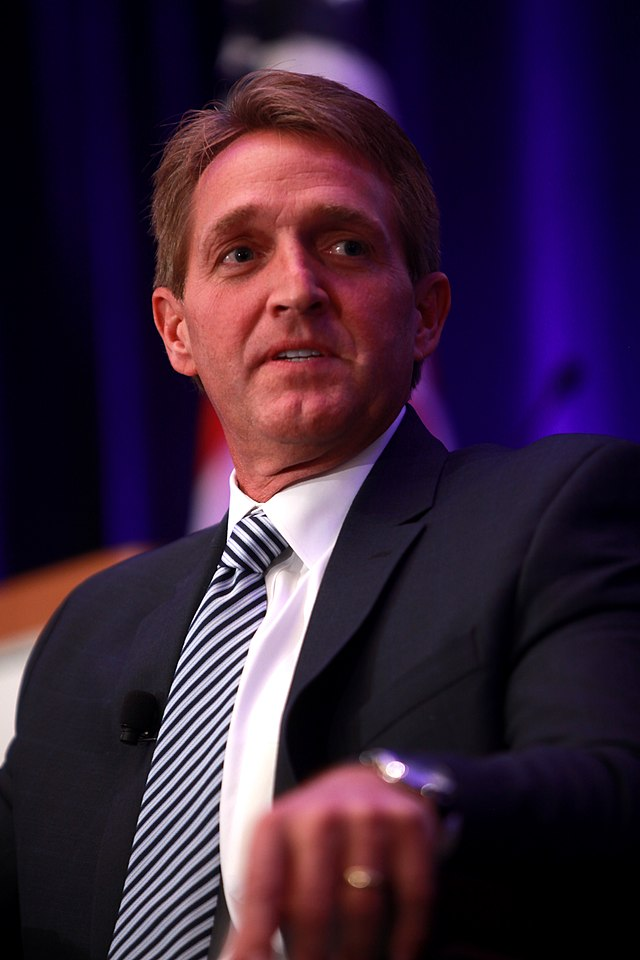 From commons.wikimedia.org: Jeff Flake April 2014 {MID-315495}