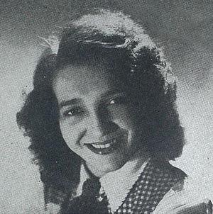 Jenny Lou Carson - Jenny Lou Carson in a 1945 advertisement