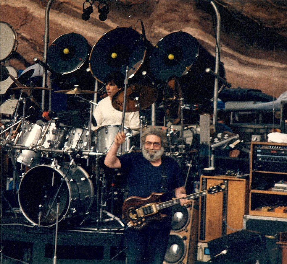 Jerry-Mickey at Red Rocks taken 08-11-87