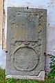 Jezbořice - Kostel svatého Václava 09 náhrobní kameny.jpg