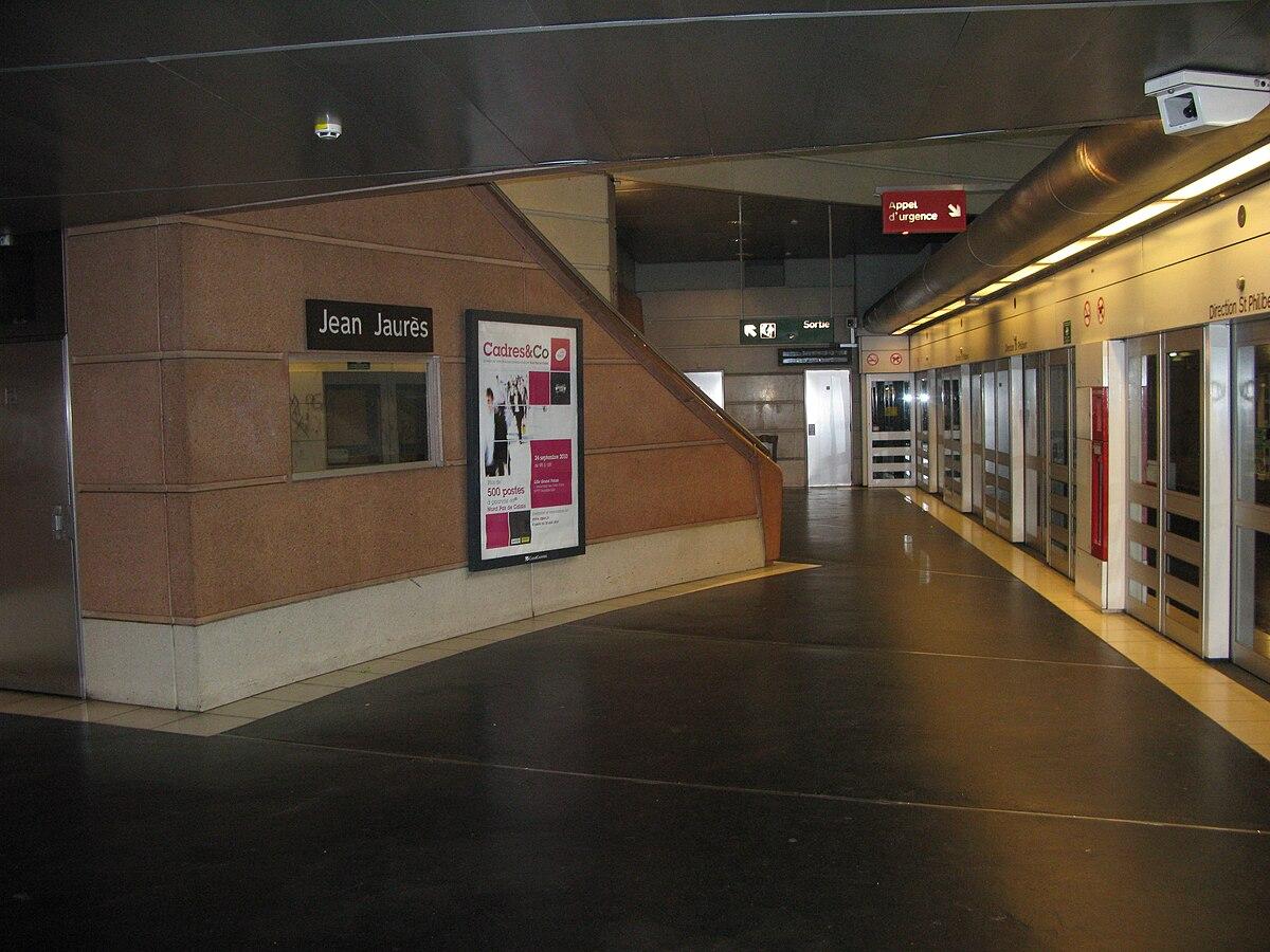 Jean jaur s m tro de lille m tropole wikidata - Magasin metro lille ...