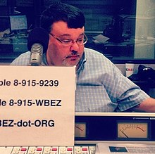 DeRogatis at WBEZ in 2012.