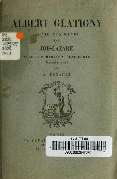 File:Job-Lazare - Albert Glatigny, 1878.djvu