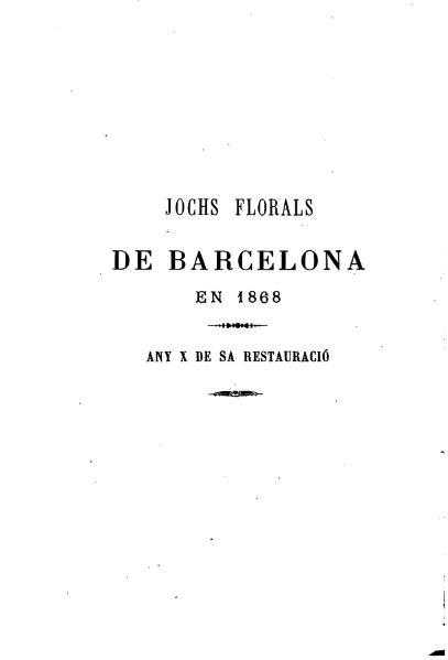 File:Jochs Florals de Barcelona en 1868.djvu