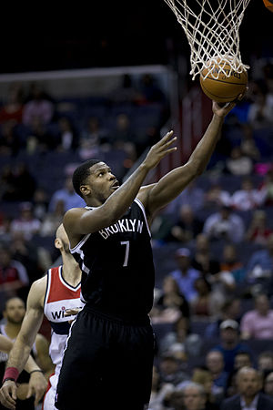 Joe Johnson (basketball) - Johnson with the Nets in March 2014