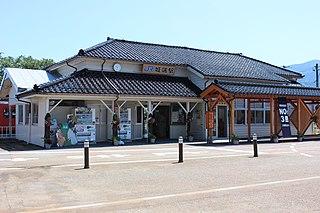 Jōhana Station Railway station in Nanto, Toyama Prefecture, Japan
