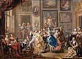 Johann Georg Platzer - Dancing scene with palace interior - Google Art Project.jpg