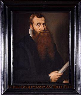 Johannes Bogerman Dutch theologian