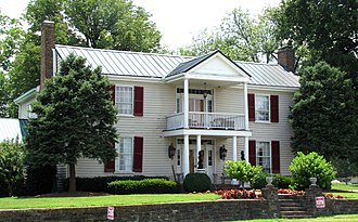 National Register of Historic Places listings in Wilson County, Tennessee - Image: John owen campbell house tn 1