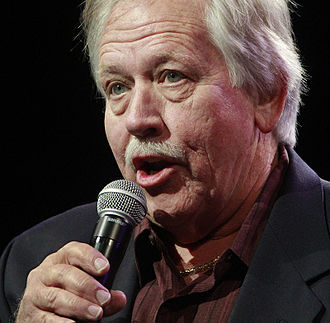 John Conlee - Country singer John Conlee singing at the Grand Ole Opry on Saturday, October 31, 2015, in Nashville, Tennessee.