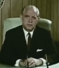John E. Davis in 1969 Civil Defense film.png