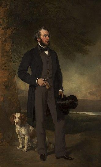 John Hick (politician) - May 1861 by Francis Grant RA (1803–1878)