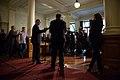 John Horgan and Andrew Weaver address the press (34612199600).jpg