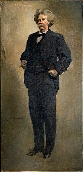 File:John White Alexander - Samuel L. Clemens (Mark Twain) (1912 or 1913) - Google Art Project.jpg