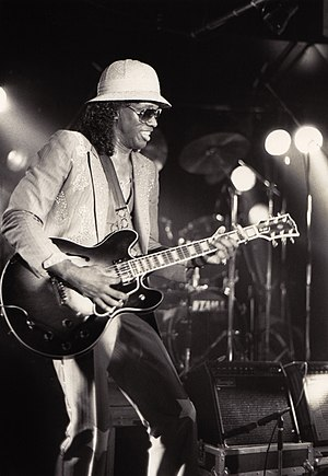 "Johnny ""Guitar"" Watson - Watson at Bielefeld, Germany, 1987"