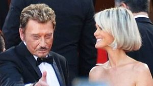 Vengeance (2009 film) - Johnny Hallyday with his wife Laeticia, promoting the film at the 2009 Cannes Film Festival.