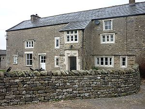 Listed buildings in Burrow-with-Burrow - Image: Johnson House, Burrow with Burrow
