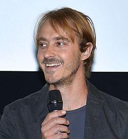 Jonas Karlsson under præsentationen af det Svenske filmefterår 2014 i Filmhuset i Stockholm.