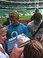Jonny Wilkinson 2009 08 12 1 Whitton twickenham england training.jpg