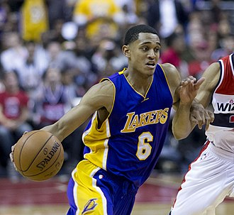 Jordan Clarkson - Clarkson in his second year with the Lakers in 2015