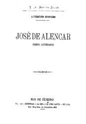 Araripe Júnior: José de Alencar: perfil literário
