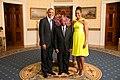 Joseph Boakai with Obamas 2014.jpg