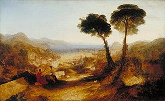 Baiae - J.M.W. Turner's landscape of Baiae.