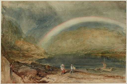 Joseph Mallord William Turner - The Rainbow- Osterspai and Filsen - Google Art Project