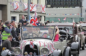 Jersey - Liberation Day celebrations in Jersey, 9 May 2012