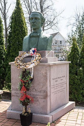 Juan Pablo Duarte - Juan Pablo Duarte memorial, Roger Williams Park, Providence, Rhode Island