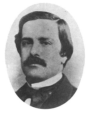 Rubén Darío - Juan Valera, novelist and literary critic, whose letters, addressed to Ruben Darío in the periodical El Imparcial, decisively consecrated Rubén Darío.