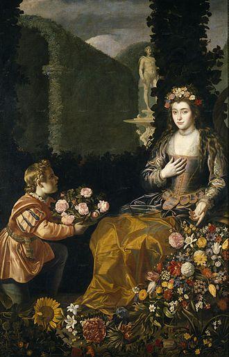Juan van der Hamen - Offering to Flora, 1627 Museo del Prado, Madrid