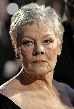 Judi Dench at the BAFTAs 2007 (cropped).jpg