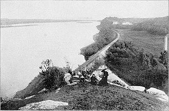 Julien Dubuque - Image: Julien Dubuque gravesite (1897)