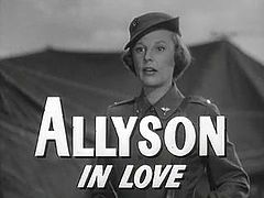 June Allyson w trailerze filmu