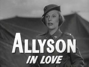 Battle Circus (film) - June Allyson in trailer