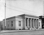 Just completed US Post Office, Kinston, NC. This photo is undated but is likely February or March 1916. From Coble's Art Studio Photograph Collection, PhC.190, State Archives of North Carolina. (9614113069).jpg