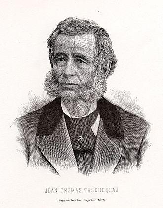 Jean-Thomas Taschereau (judge) - Image: Justice Jean Thomas Taschereau
