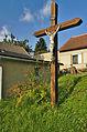 Kříž v západní části obce, Nové Sady, okres Vyškov (02).jpg