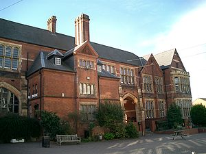 """Foundation of the Schools of King Edward VI - The """"Old Building"""" at King Edward VI Aston"""
