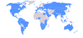KFC world map 2014.png