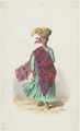 KITLV - 36A228 - Borret, Arnoldus - Kotomisi with shawl and basket on the head - Water colour - Circa 1880.tif