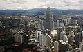 KLCC from Menara Kuala Lumpur Tower (3325047681).jpg