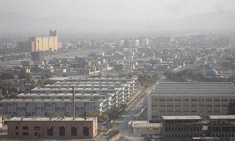 Kabul Polytechnic University - Image: Kabul City