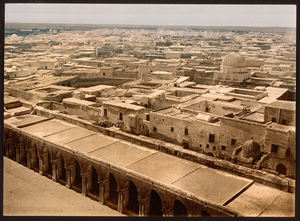 Kairouan - View from Great Mosque (1899)