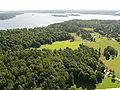 Kaknästornet Kaknäs Lilla Värtan (Libertus Fjäderholmarna) Stockholm Sweden 20050812.JPG