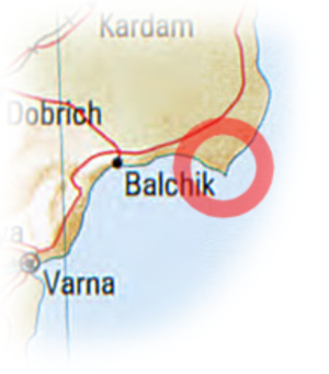 Kaliakra-map