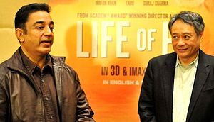 Kamal Haasan - Kamal along with Ang Lee