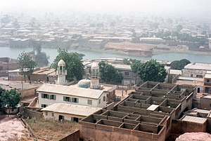 Кано: Kano, Nigeria neighborhood (taken in 1995)